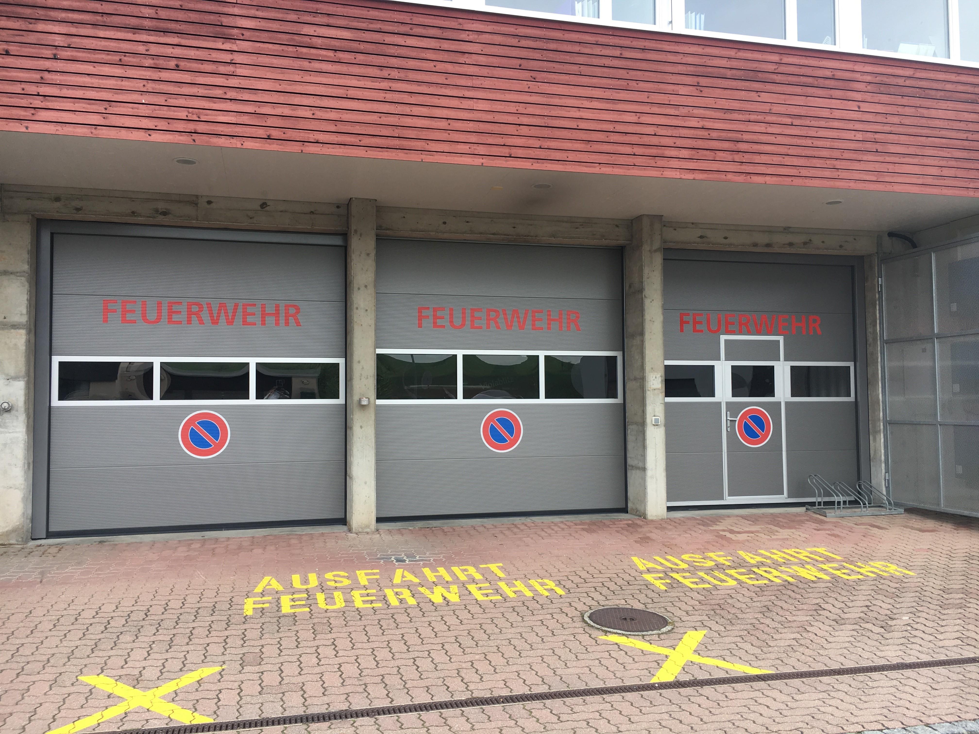 Sektionaltore für Feuerwehren